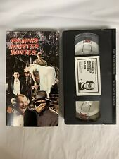 Grampa's Monster Movies Vhs Amvest Video Rare Horror Munsters