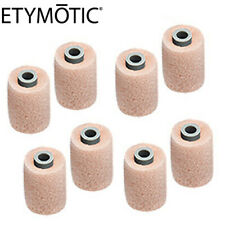 ETYMOTIC 8 Pack ER38-14A Small Beige Foam Eartips for ER4, HF, MC, MP-9 etyBLU