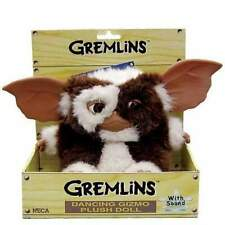 "GREMLINS GIZMO SINGING & DANCING 7"" PLUSH SOFT TOY NECA NEW IN BOX MOGWAI"