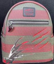 Loungefly Freddy Krueger Nightmare On Elm Street Mini Backpack (Same Day Ship)