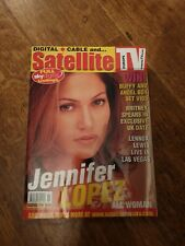 SATELLITE TV  europe MAGAZINE NOVEMBER 2000 JENNIFER LOPEZ cover