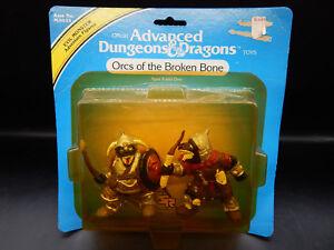 MOC 1983 tsr ORCS OF THE BROKEN BONE Advanced Dungeons & Dragons monster toy LJN