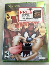 Taz: Wanted (Microsoft Xbox, 2002) SUPER RARE NEW