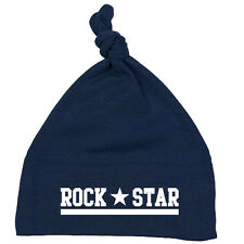 Rock Star nodo singolo Baby Berretto Navy