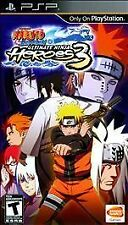 Naruto Shipuden: Ultimate Ninja Heroes 3 - Sony PSP, Good Sony PSP, Sony PSP Vid