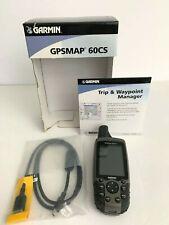 Garmin GPS MAP 60CS Handheld Outdoors Bundle w/ Manual + Waypoint Manager + USB