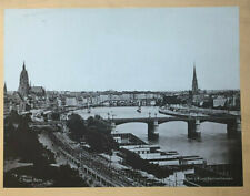 Frankfurt am Main - Gesamtansicht  - Foto um 1920 - Größe 25 x 19 cm