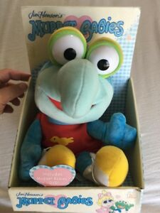 JIM HENSON'S MUPPET BABIES PLUSH DOLL BABY GONZO 1980's TOY PLAY BRAND NEW