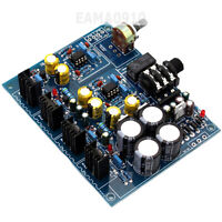 E3 Headphone Amplifier AMP BD139 BD140 NE5532 3300UF*4 Board YJ0048