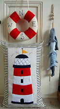 PRIMITIVE FOLK ART SEWING PATTERN 'BESIDE THE SEASIDE' CUSHION, WREATH & FISH