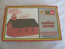Vintage AHM HO Scale Snap Together School House Building Kit #15307 NOS