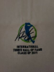 Tennis Andre Agassi 2011 men's International Tennis Hall of Fame inductee Towel