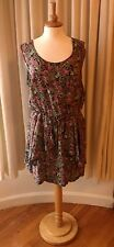 STELLA MORGAN size L UK16-18 summer dress ~ multi colour floral