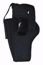 Ambidextrous Gun Belt Holster Pouch Fits Beretta 92 Taurus w/ Rails Size 32 260B