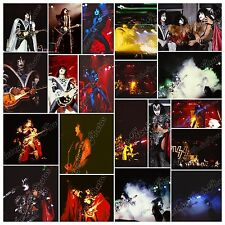 KISS - Unmasked Tour, Genova, italy 31 august 1980 - 93 rare photos - fotografie