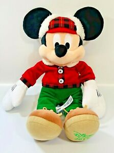 Mickey Mouse Plush Official Disney Store 2017 Soft Toy