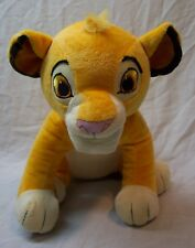 """Walt Disney The Lion King Nice Soft Young Simba Lion 10"""" Plush Stuffed Animal"""