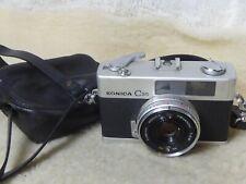 Konica C35 Rangefinder - 35mm Automatic Film Camera, Hexanon 38mm f/2.8 Lens
