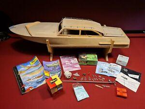 Vintage RC Holz Yacht Hawaii Schuco Hegi von 1959 Graupner Metz Webra selten rar
