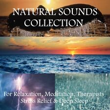 4 X CD's: NATURAL SOUNDS COLLECTION FOR RELAXATION, MEDITATION STRESS, SLEEP SPA