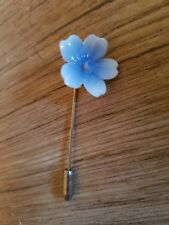 "■■AYNSLEY HAND PAINTED & CRAFTED CHINA FLORAL HAT/LAPEL PIN  ""FREE POSTAGE"""