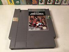 * Where In Time Is Carmen Sandiego? Nintendo NES Video Game Cartridge Konami
