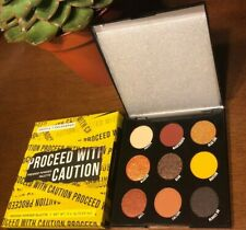 Authentic Colourpop Proceed With Caution Pressed Powder Eyeshadow Palette - NIB