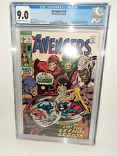 Marvel Avengers #79 Cgc 9.0 Buscema Cover 1970 FREE SHIPPING Silver Age