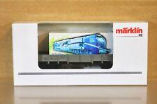 MARKLIN MÄRKLIN 94162 SONDERMODELL MEHANO BLUE TIGER CONTAINER PROMOTIONAL WAGON