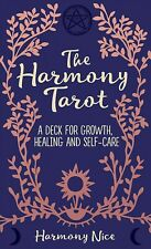 THE HARMONY TAROT GROWTH HEALING SELF CARE CARDS  DECK WICCAN NATURE CAT ResQ