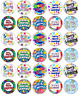 30x Sorry Your Leaving Cupcake Toppers Edible Wafer Paper Fairy Cake Toppers