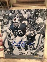 Joe Delamielleure Autographed/Signed 8x10 Photo PSA/DNA Buffalo Bills HOF