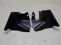 85 Yamaha Riva XC 125 Pair of Handlebar Mirror Dash Gauge Cluster Front Covers