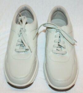 Rockport Prowalker APM35519 Men's 9M Leather Upper Beige Cream NEW