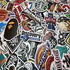 Lot 100 Random Skateboard Stickers Vinyl Laptop Luggage Decals Dope Sticker Mix