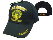 U.S. Army DSG Retired Ball Cap Hat Embroidered 3D (Licensed)