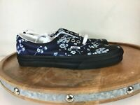 Vans Unisex Era Floral Shoes Blue Black VN0A4U39WYW Size M8.5/W10.5