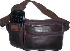 Leather waist pouch, waist bag, leather bag, Fanny pack, lambskin waist pouch BN