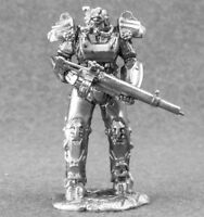 Toy Soldiers 54mm Miniature T-60 power armor Fallout 4 Metal 1/32 Figure
