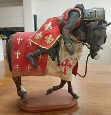 """1/6 scale Medieval English Knight custom 12"""" Warrior figure + Horse weapon Sword"""