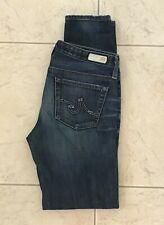Adriano Goldschmied Stilt Cigarette Leg Low Rise Women's Jeans size 27R (29x30)