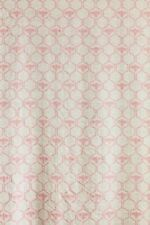 More details for barneby gates honey bees rose linen cotton fabric 3.2 metres full width