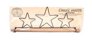 Classico Motivi Stars 40.6cm Tessuto Supporto Con Perno