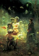Ilya Sadko In The Underwater Kingdom Painting Poster Fine Art Reprint A4
