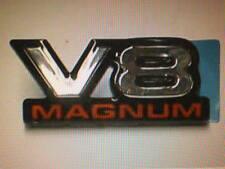 Dodge Ram Truck fender logo V8 MAGNUM emblem OEM new 55076570 nameplate