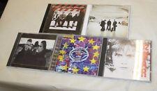 U2 5 CD LOT WAR, JOSHUA TREE, ATOMIC BOMB, ZOOROPA & LEAVE BEHIND FREE SHIPPING