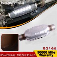 "Universal Catalytic Converter ECO II 2.5"" 2 1/2"" Pipe 11"" Body For Chevrolet GMC"