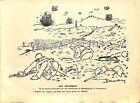 Les colombins Tranchées OCCITAN CARICATURE HUMOUR POILUS Pierre Dantoine WWI