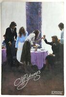 1980's Vintage Menu CLIFF YOUNG'S Steak House Restaurant Denver Colorado