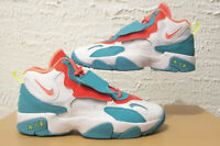 Nike Air Max Speed Turf Kids Size 7Y GS Crimson Turquoise Miami Youth BQ9632-101